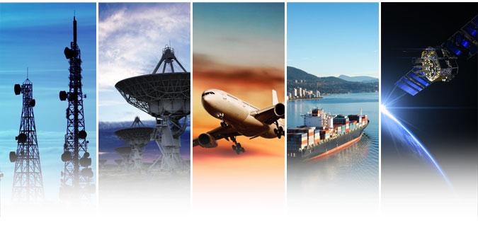 Versawave Markets - Telecoms, RF Over Fiber, Aviation, Marine & Space